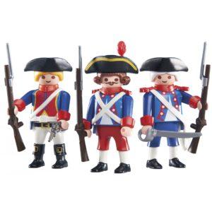 Set 3 Soldados Franceses