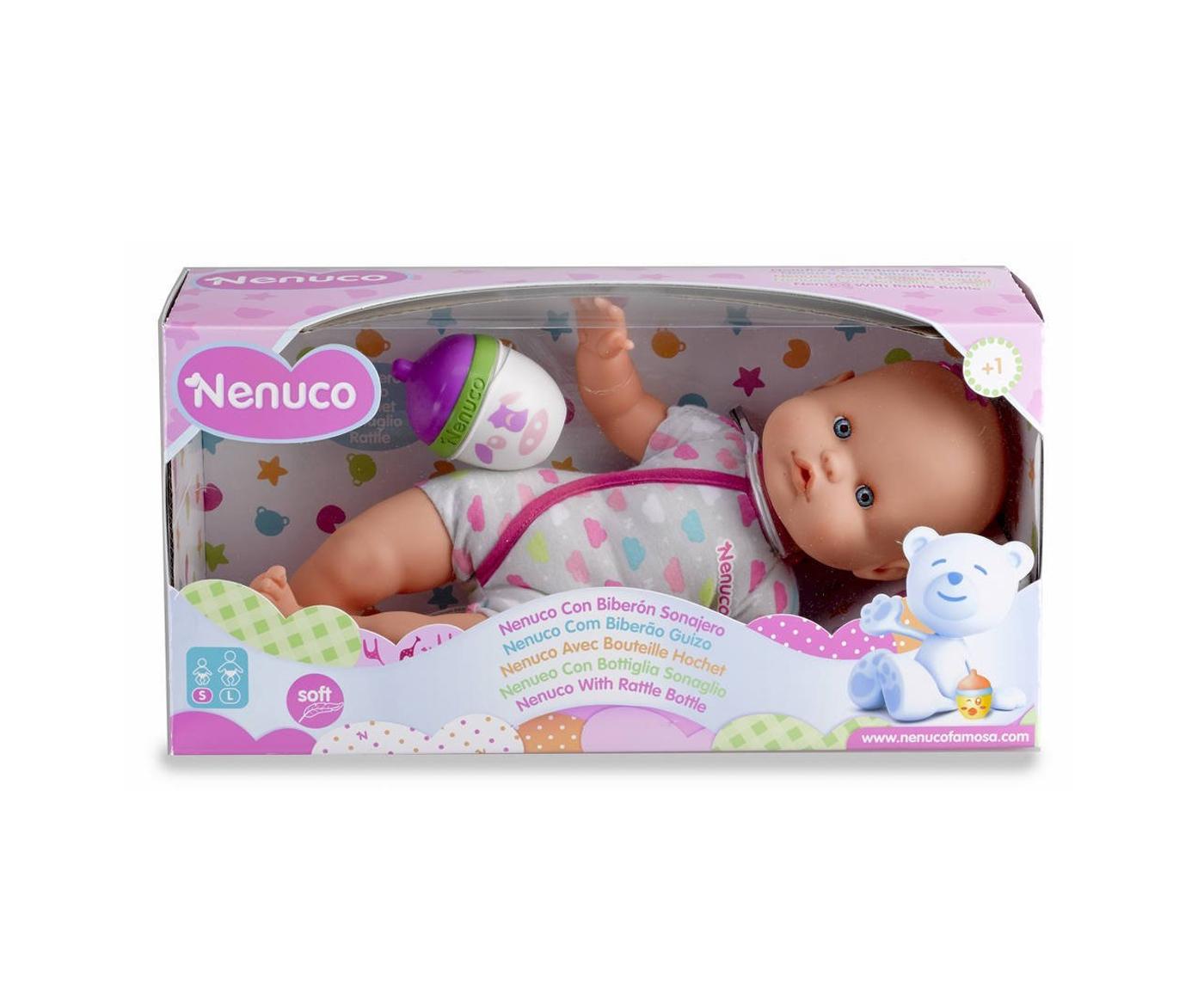 Nenuco - Mi pequeño, muñeca con trajecito, color gris