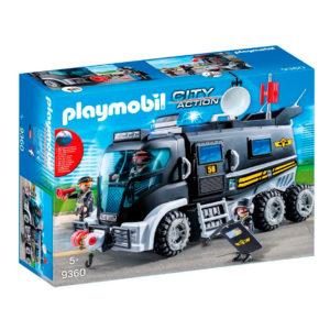Camión de Asalto Policías-Antidisturbios