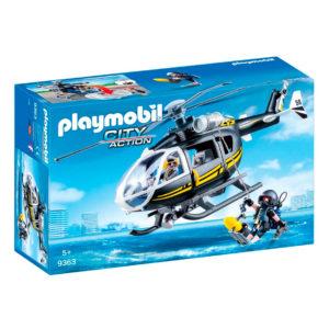 Helicóptero de Asalto Policías-Antidisturbios