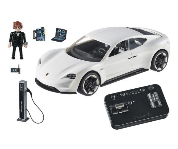 Porsche Mission E y Rex Dasher