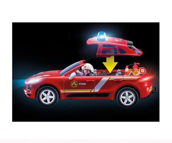 Porsche Macan S Bomberos